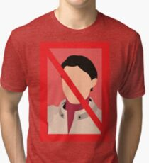 NO ASHLEY- MASS EFFECT Tri-blend T-Shirt