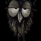 Funny Sleepy Owl by StrangeStore