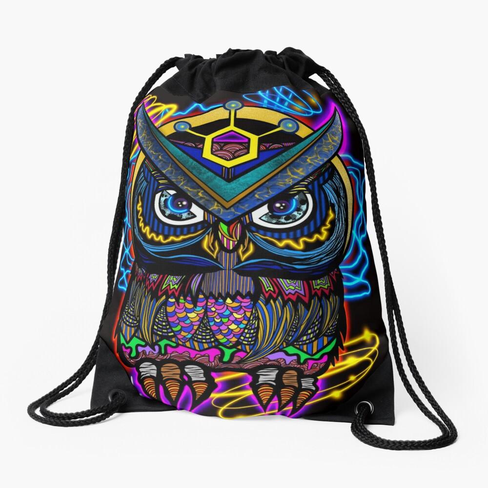 Digital OWL- Smart Digital Payments Drawstring Bag