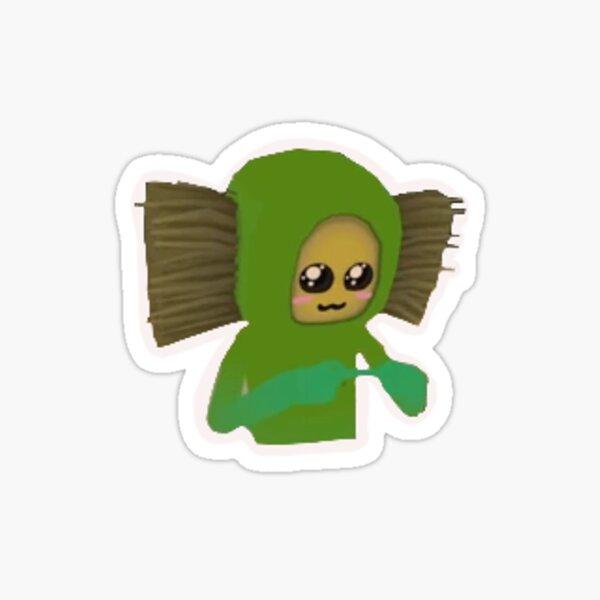 Baby no no square  Sticker