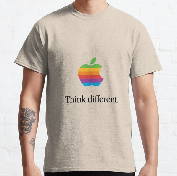 Retro Apple. Think different. Classic T-Shirt
