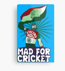 Team India Fan Metal Print