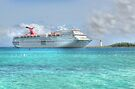 Cruise Ship entering in Nassau Harbour, The Bahamas by Jeremy Lavender Photography