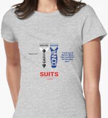 SUITS   DIALOGUE - DONNA-HARVEY T-Shirt