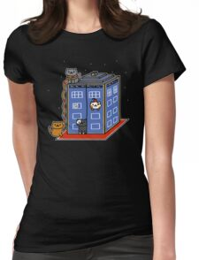 Who Atsume Womens Fitted T-Shirt