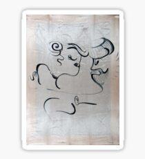 dance, 2011, 50-70cm, acrylic on canvas Sticker