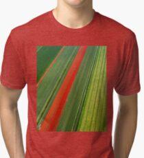 Tulip Field Tri-blend T-Shirt