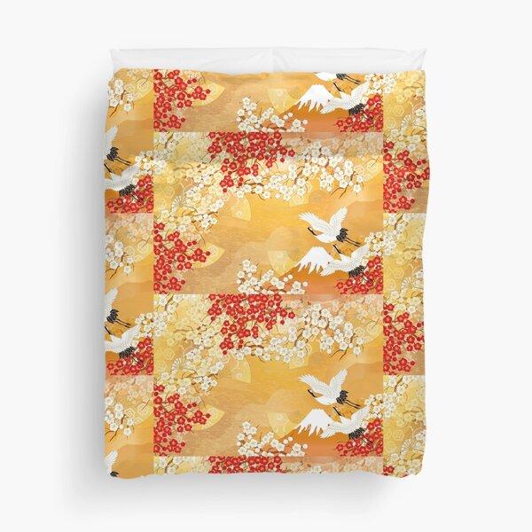 Beautiful kimono of Japan Duvet Cover