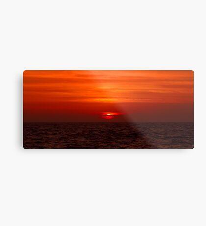A Florida Sunset Metal Print