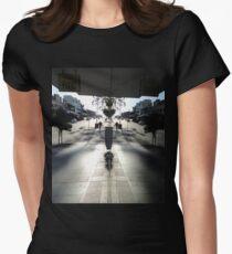 Window Reflection,Top Ryde,Australia 2014 Women's Fitted T-Shirt