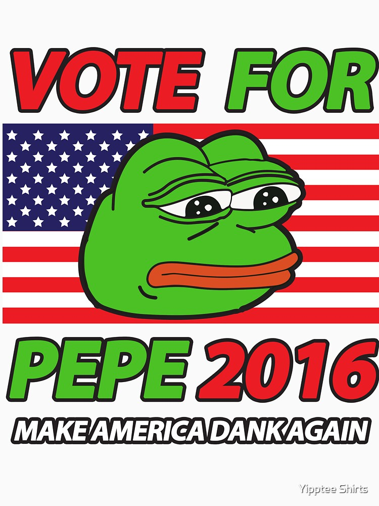 Vote Pepe Sad Frog 2016 | Unisex T-Shirt