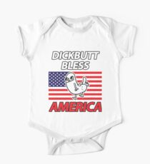 Dickbutt Bless America One Piece - Short Sleeve