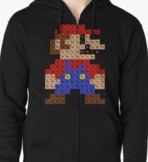 Sudadera con capucha y cremallera Tabla periódica de Mario