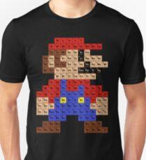 Camiseta ajustada Tabla periódica de Mario