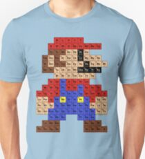 Periodic Mario Table Unisex T-Shirt
