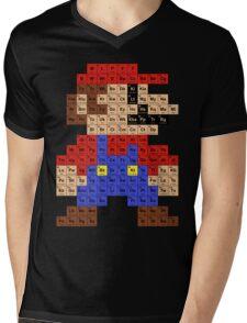 Periodic Mario Table Mens V-Neck T-Shirt