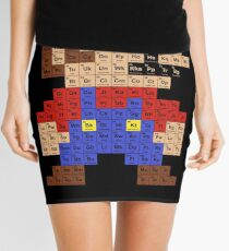 Periodic Mario Table Mini Skirt
