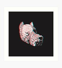 Spirit Dog 3D Art Print