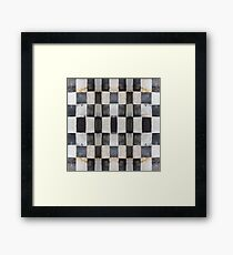 Checkers Framed Print