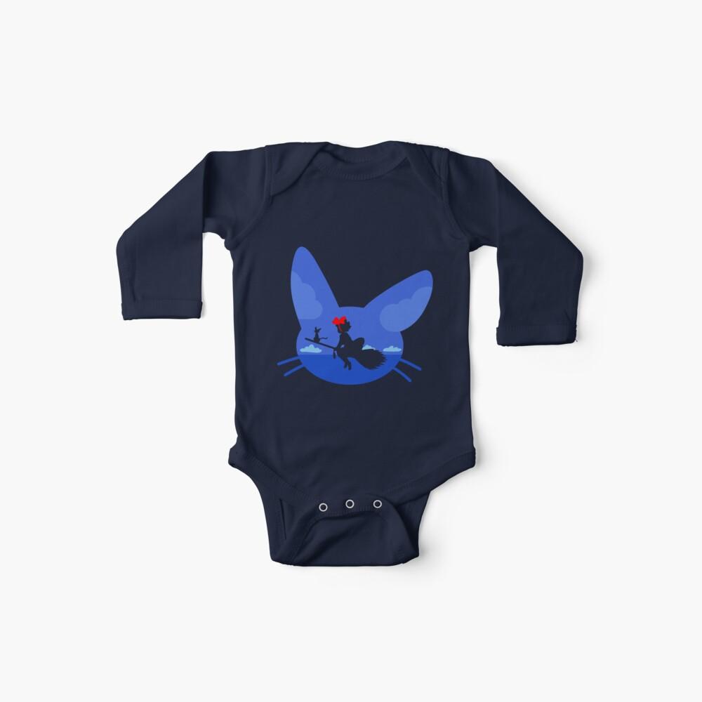 Kiki and Jiji's Flight Baby One-Pieces