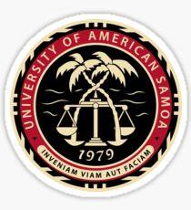 University of American Samoa Sticker