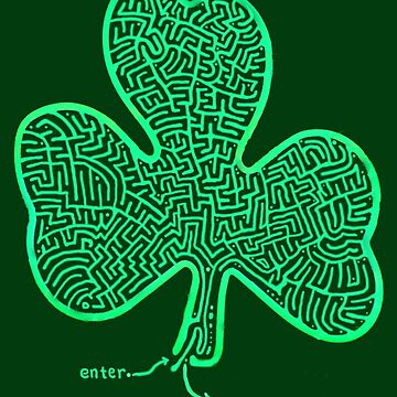 A-MAZe-thING Shamrock (read rules) by JamesLHamilton
