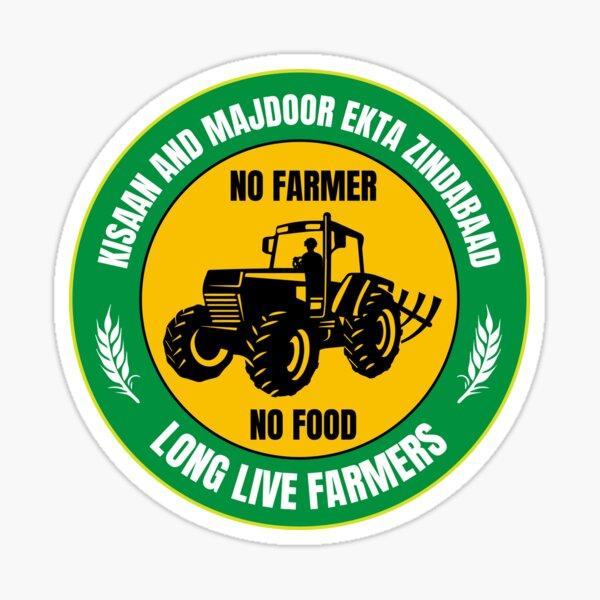 Vive les agriculteurs Sticker