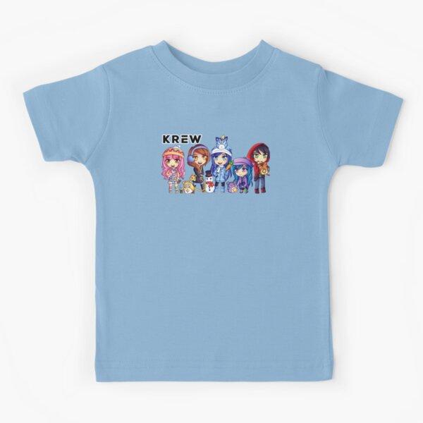 Fanart Cute Funneh and the Krew Christmas Kids Cartoon Kids T-Shirt