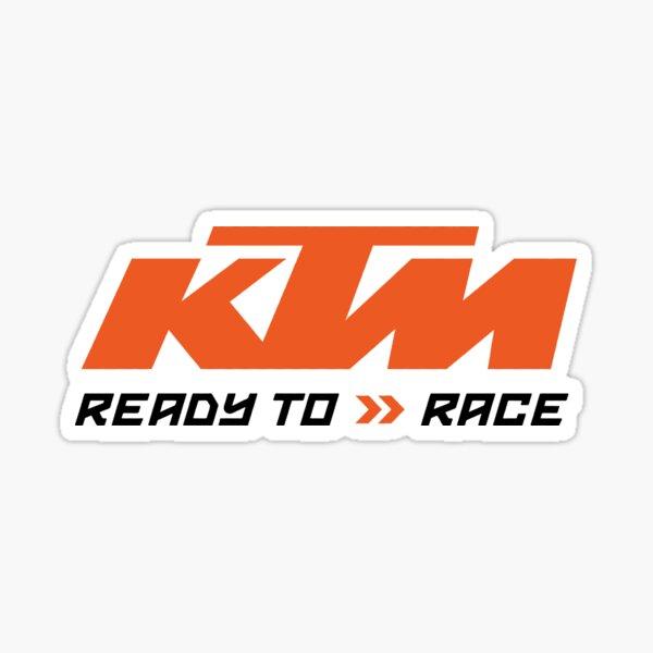 Logo Series Ready to Race Sticker