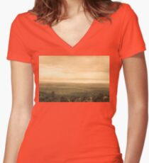 Arizona Dust Storm Women's Fitted V-Neck T-Shirt