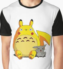 Totorotchu and Pikaro Graphic T-Shirt