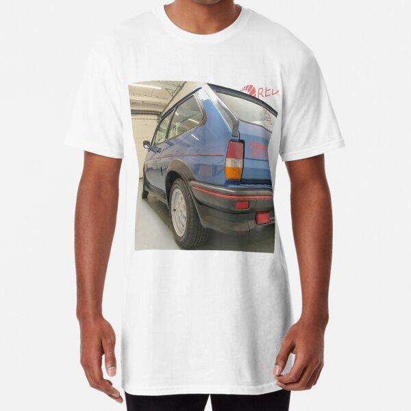 Ford Fiesta MK2 XR2 Rear Angle Long T-Shirt