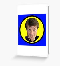 Captain Hammer Groupie Greeting Card