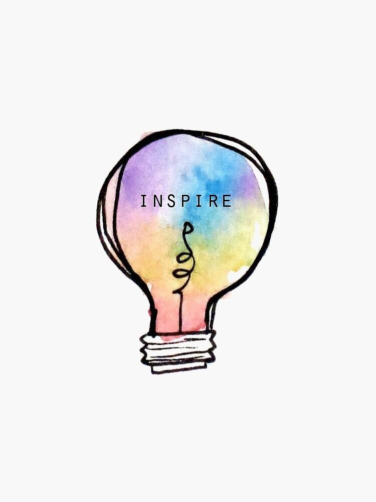 Inspire Lightbulb by saraellenme