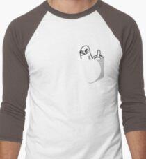 Pocket DickButt Men's Baseball ¾ T-Shirt
