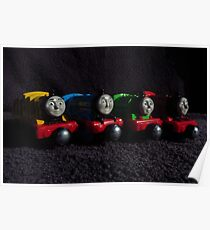 My Toy Trains Poster