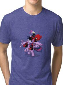 Pony Tail! Tri-blend T-Shirt