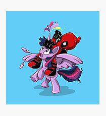 Pony Tail! Photographic Print