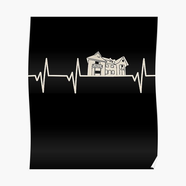 Urban Exploration Heartbeat Pulse Gift For Urban Explorers Poster