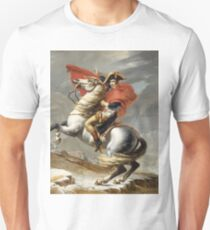 Jacques-Louis David - Bonaparte . The Emperor Napoleon , Napoleon, Fashion Portrait Unisex T-Shirt