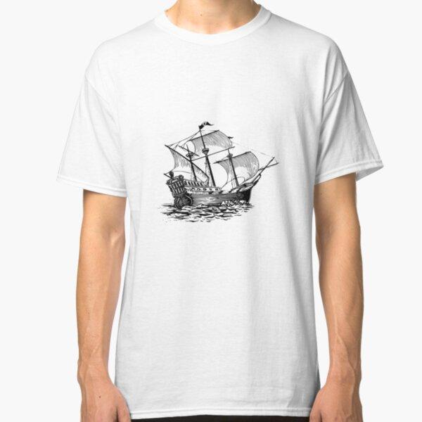 Galleon Ship Classic T-Shirt