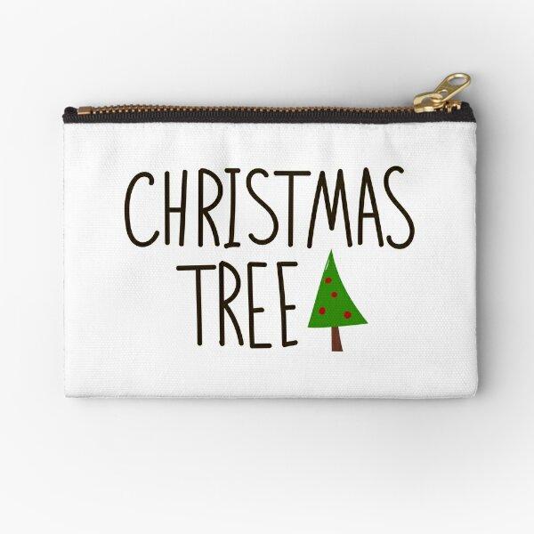 Christmas tree Zipper Pouch