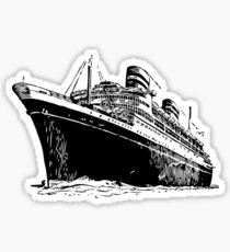 Ocean Liner Sticker