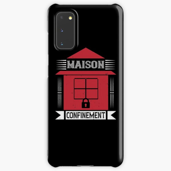 House confinement humor funny covid Samsung Galaxy Snap Case