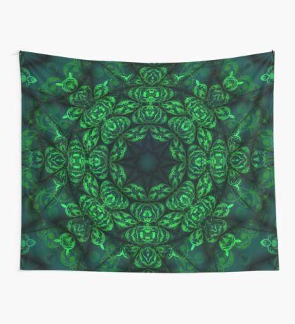 magic green Wall Tapestry