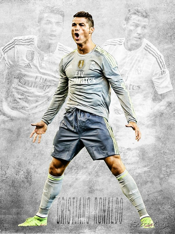 Quot Cristiano Ronaldo Quot Posters By Soccerkings Redbubble