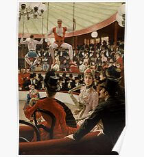 James Tissot - Women of Paris The Circus Lover 1885 Poster