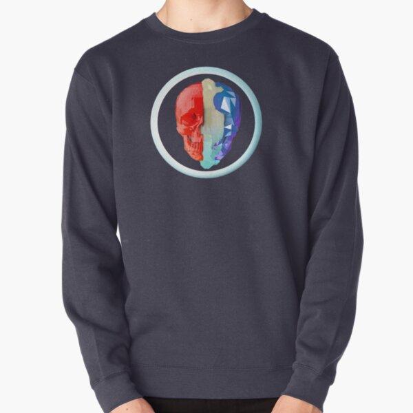 Split Skull Pullover Sweatshirt