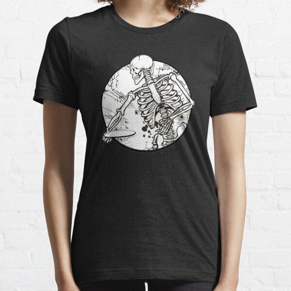 Disc Golf Skeleton high quality funny essential black Essential T-Shirt