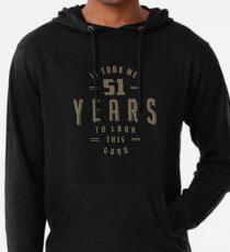 Premium Legend Desde 1968 Hombre Divertido 51st Cumpleaños Hoodie 51 Años De Top